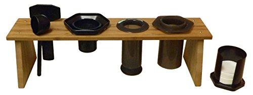 Bamboo-Caddy-Rack-for-AeroPress-Coffee-Maker