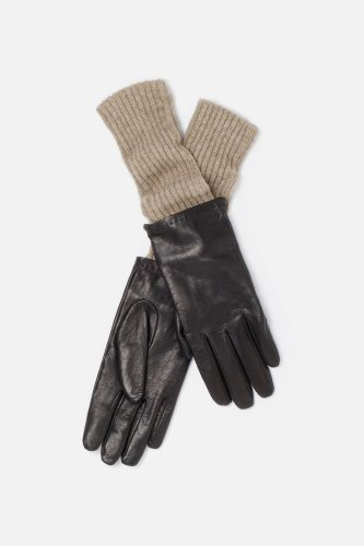 Women's Embroidered Croc Cashmere Long Gloves