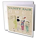 31fEv8wfFwL. SL160  Taiche   Vintage Posters   Vanity Fair   Vanity Fair  caricature, women, fashion, gossip, celebrities, magazine, historical, dog   Greeting Cards 6 Greeting Cards with envelopes