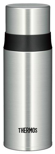 サーモス 水筒 ステンレススリムボトル 0.35L ステンレスブラック FFM-350 SBK