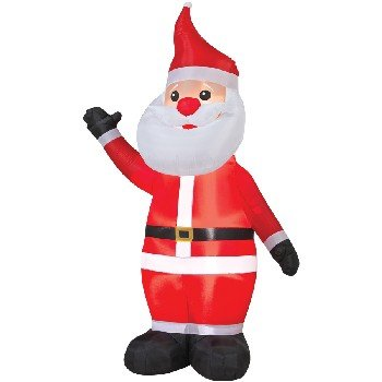 Morris 8' Tall Airblown Santa Christmas Inflatable - Garden outdoor decoration at Sears.com