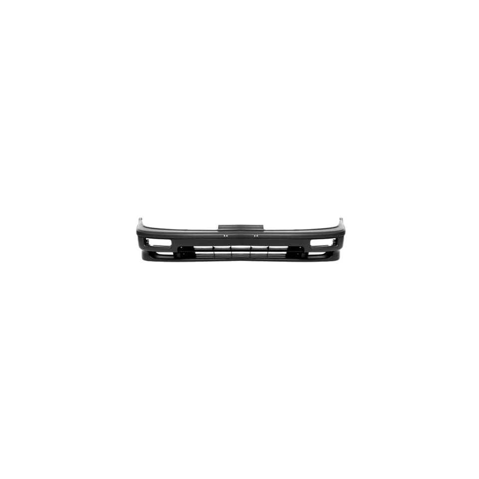 CarPartsDepot Black Front Bumper Cover Assembly Replacement Primed 2dr 4dr New, 352 10100 10 PM AC1000110