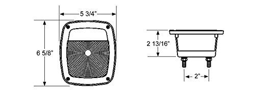 Индикаторы сигнала направленный Blazer B99SW Square