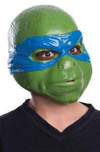 Teenage Mutant Ninja Turtles Movie Leonardo Child Mask (Original Leonardo Adult Costume Mask)