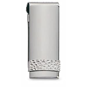 Colibri Rage Stainless Steel & Sterling Silver Money Clip