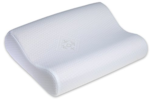 Serenia Memory Foam Contour Pillow featuring Coolmax, Standard