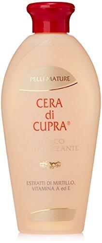 Cera di Cupra - Pelli Mature, Tonico Rivitalizzante, Estratti di Mitrillo, Vitamina A ed E - 200 ml