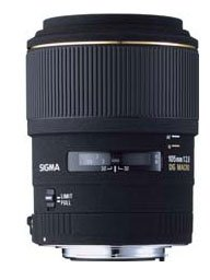 The Electronics World |   Sigma 105mm f/2.8 EX DG Medium Telephoto Macro Lens for Pentax and Samsung SLR Cameras