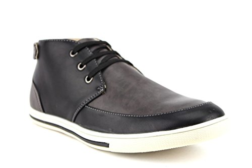 Scans Men's 63312 Low-profile chukka boots, Grey/Black, 9.5 (Mens Low Profile Boots compare prices)