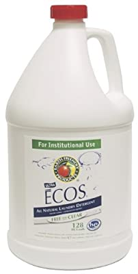 ECOS All Natural Liquid Laundry Detergent ( DETERGENT, LAUNDRY, FREE&CLEAR, 5GAL, PAIL ) 1 Each / Each