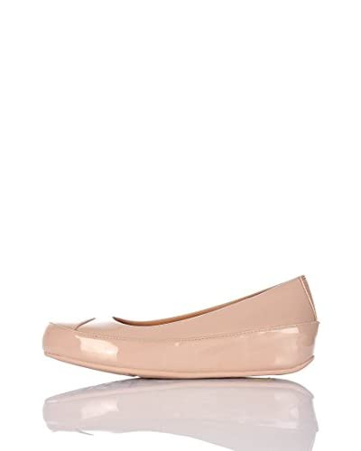FitFlop Ballerina Due Tm Patent [Nude]