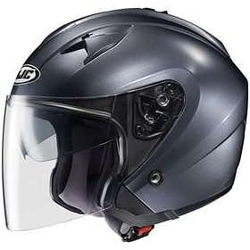 HJC IS-33 ANTHRACITE MOTORCYCLE Open-Face-Helmet