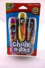 Chalk-a-doos Super Hero 3 Pk