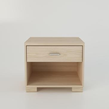 Night Stand Oak front-1066690