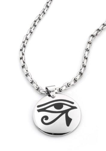 DOOSTI Talisman Pendant with Stainless Steel Necklet, ø 3,5cm