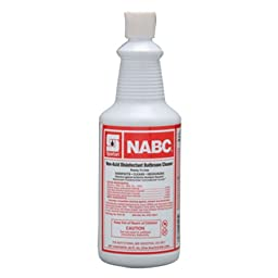 NABC Altered Restroom Cleaner # 710603, 12 qts per case -(1 CASE)