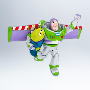 Buzz To The Rescue – Toy Story 2012 Hallmark Ornament