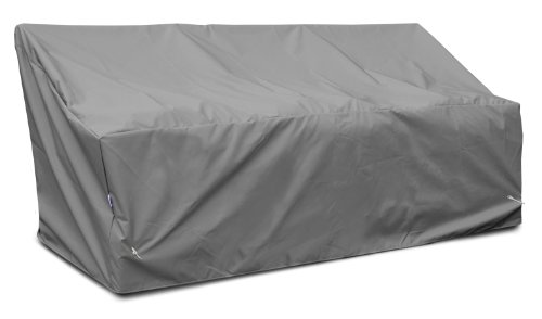 Koverroos Weathermax 86450 Deep 3-Seat Glider/Lounge Cover, 89-Inch Width By 36-Inch Diameter By 33-Inch Height, Charcoal front-1049336