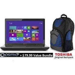Toshiba Qosmio X75-A7298 17.3-Inch 3D Laptop W/ New !! Haswell 4th Generation Intel Core i7-4700MQ (Black Widow Styling in Diamond-Textured Aluminum) + Value Bundle