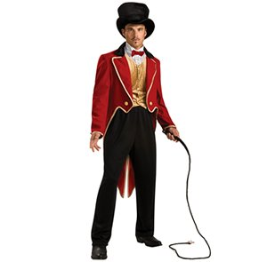 Circus Ring Master Costume - Standard - Chest Size 40-44