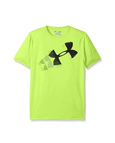 Under Armour T-Shirt Manica Corta Rising Pixelated Logo [Lime]