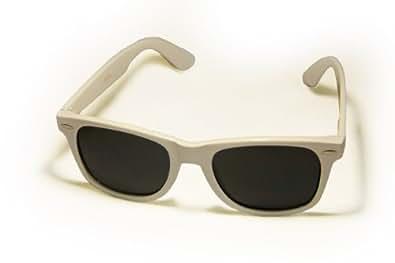 Wayfarer Polarized Retro Sunglasses <br>WF01PZ White