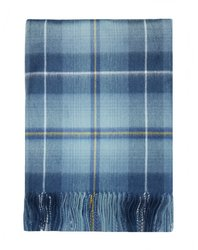 100% Lambswool Original Ryder Cup 2014 Tartan Blanket / Throw - Made in Scotland by Lochcarron