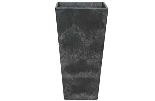 Ivyline Artstone 107822 Vase 35x70cm - Ella Black