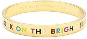 "kate spade new york ""The Glass Is Half Full"" Idiom Bangle Bracelet"
