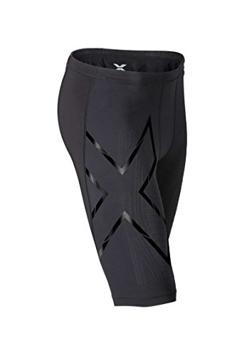 2XU Men's Elite MCS Compression Shorts, Black/Nero, Medium