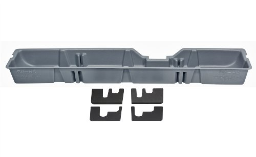 DU-HA 20093 Ford Underseat Storage Console Organizer - Gray