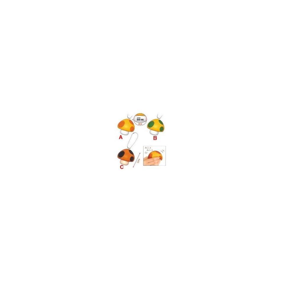 Nintendo Super Mario Bros. Mushroom Foam Keychain 43693