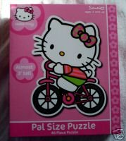 Picture of Pressman Hello Kitty Huge Pal Size Puzzle 46 Pcs Almost 3 Feet Tall (B000KSXSW4) (Floor Puzzles)
