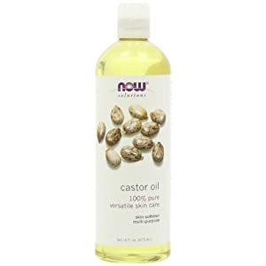 NOW Solutions Castor Oil, 100 % Pure, 16 ounce