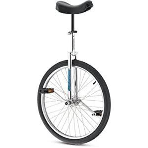 Torker Lx 24 Unicycle 24 Blue Chrome