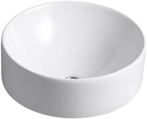 Comapre Price Kohler K 14800 0 Vox Round Vessel White Oishibuybest
