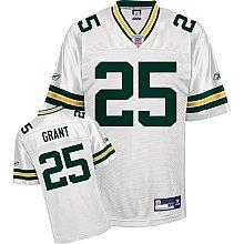 Ryan Grant Greenbay Packers WHITE Equipment - Replica NFL YOUTH Jersey