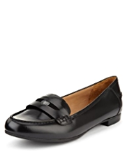 Footglove™ Premium Leather Penny Loafers