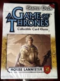 Game of Thrones Starter Deck House Lannister - 1
