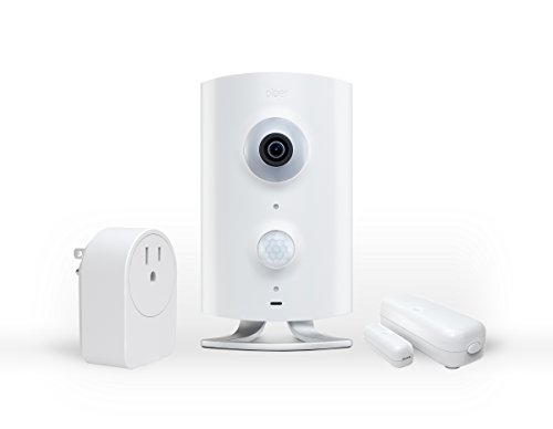 Piper nv Security Camera with Door/Window Sensor and Smart Switch, All-in-One Security System with Video Monitoring Camera, White (Nv Piper compare prices)