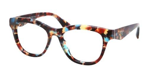 pradaPrada PR04QV Eyeglasses-NAG/1O1 Havana Spotted Blue-49mm