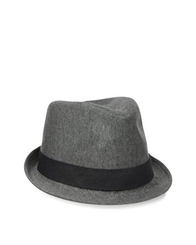 Levi's Men's Cotton Jersey Trilby Hat, Charcoal Heather