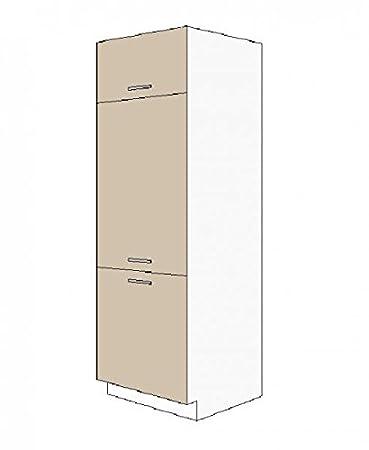 Kuchen Gerätehochschrank 60 cm fur das Modell ,,Dave 240 Eiche Sonoma Truffel'