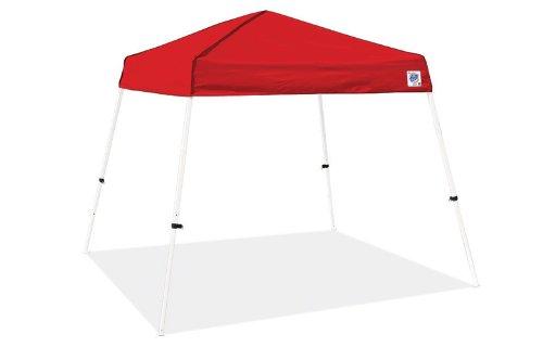 Vista Sport Recreational Instant Shelters Gazebos by International E-Z UP, 8 by 8-Feet, Red