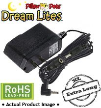 Dream Lites Pillow Pets Power Supply / AC Adapter (EXTRA LONG | LEAD FREE)