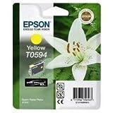 Epson T0594 Cartouche d'encre d'origine R2400 Jaune