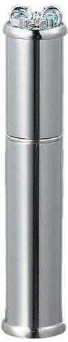 ヤマダアトマイザー メタルアトマイザー メタルポンプ 35121 15mm径 シルバー ラインストーンリボン 3.5ml