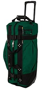 Club Glove Rolling Duffle 2 Green by Club Glove