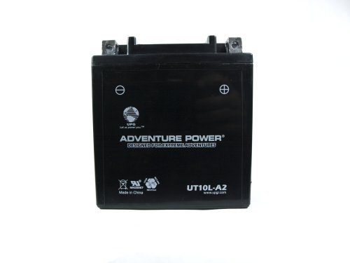 UPG UT10LA-2 Adventure Power Power Sport AGM Series Sealed AGM Battery