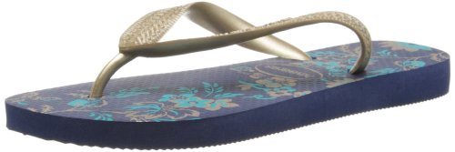 Havaianas Womens Spring Thong Sandals 4123230 Navy Blue 4 UK, 38 EU